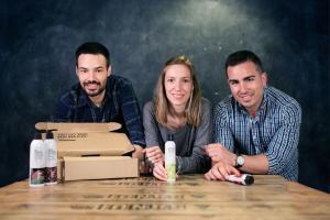 MiquelAntolín, Mireia Trepat i Joan Miralles són tres joves enginyers químics de 25 anys de Tarragona que han revolucionat el mercat de la cosmètica natural.