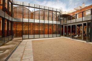 Una imatge del Centre d'Art Cal Massó, on es durà a terme l'exposició.