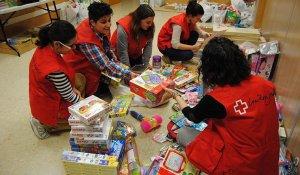 Imatge de la recollida de joguines.