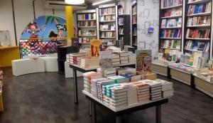 Interior de la llibreria Galatea de Reus