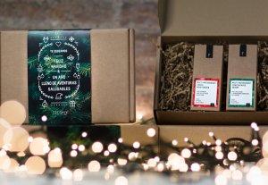 Rebreu el vostre paquet amb un embolcall molt nadalenc i especial.