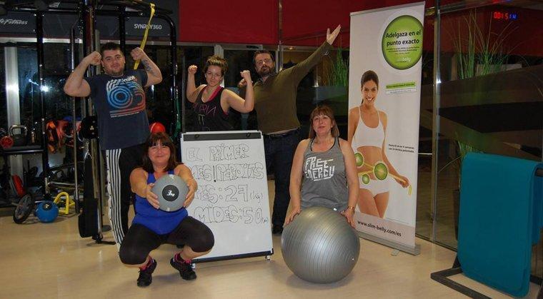 Imatge dels participants de la primera edició del programa Slim Diet.