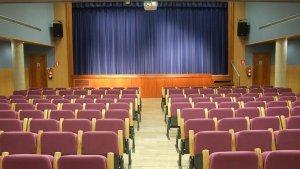 Imatge de l'auditori de la Sala Santa Llúcia
