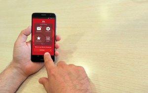 L'app es pot descarregar també des de la tauleta