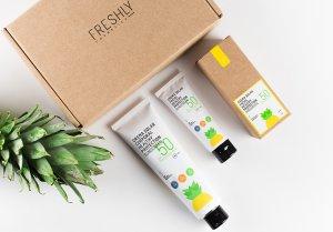 Imatge dels nous protectors solars saludables de Freshly Cosmetics.