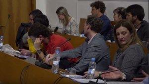 ERC s'ha abstingut en una moció a favor de la independència.