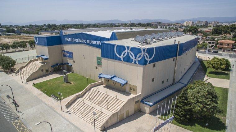 Imatge exterior del Pavelló Olímpic Municipal.