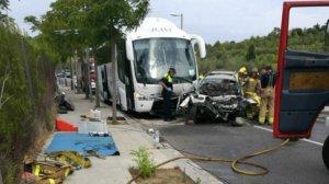 Accident a Salou.