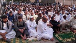 Celebració a la mesquita de Reus