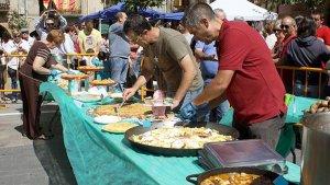 El concurs de truites i guisats és l'activitat principal de la Festa d'Inici de la Campanya de la Patata de Prades.