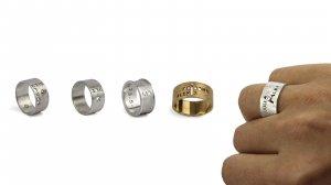 Els anells personalitzables de SYL.