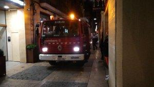 Bombers al Carrer de l'Hospital de Reus