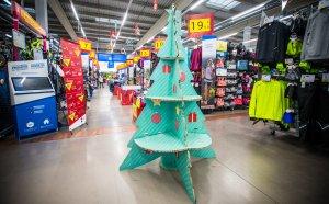Decathlon Reus també celebra el Nadal.