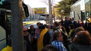 Han sortit cinc autobusos de Reus.