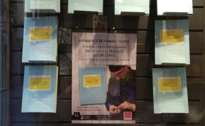 El reusenc Carlos Cuevas presenta el seu primer llibre a Galatea Llibres.
