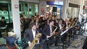 El jazz, el swing, el blues en cançons de tota la vida, amb la Sax Ars Band.