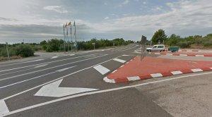 La intersecció es convertirà en una rotonda, al terme de l'Hospitalet de l'Infant.