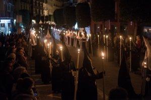 La Processó del Silenci a Reus.