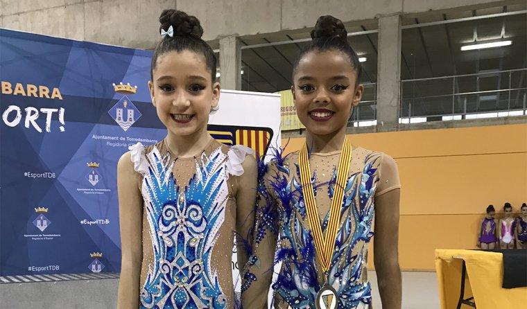 Aitana Niza i Leandra Fonseca.
