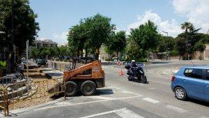 Actuacions d'asfaltat i mobilitat al passeig de Mata
