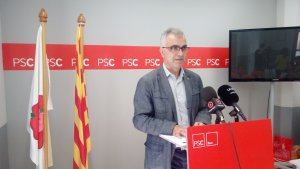 Andreu Martín, portaveu del PSC a l'Ajuntament de Reus