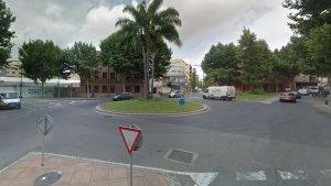 Imatge de l'actual plaça de Villarroel.