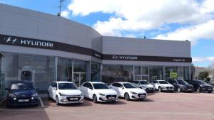 Imatge de les instal·lacions de Hyundai a Reus.