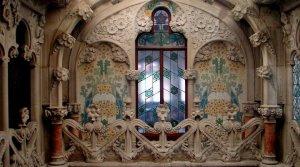 Interior de la Casa Navàs, a Reus.
