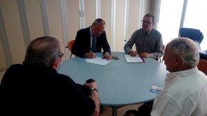 L'alcalde de Reus, Carles Pellicer, duu a terme trobades amb veïns als centres cívics