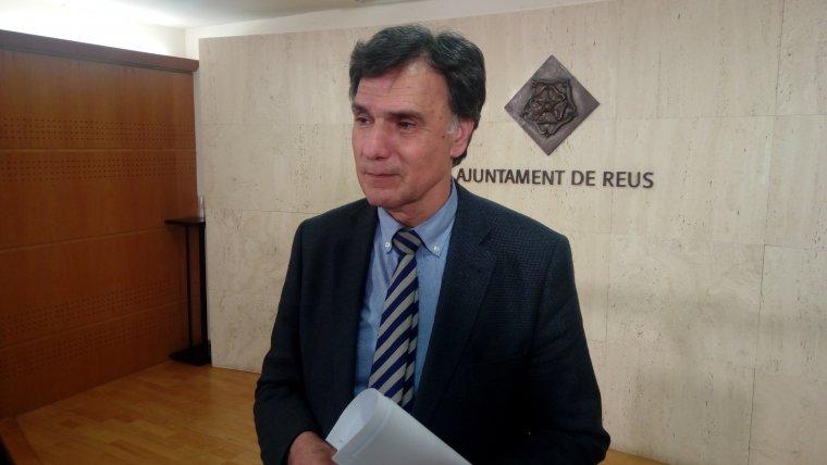 Joaquim Enrech, regidor d'Hisenda i Recursos Generals de l'Ajuntament de Reus