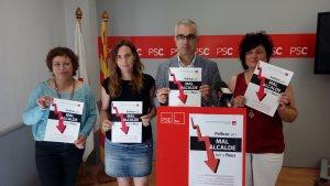 El grup municipal del PSC de Reus fa balanç del mandat