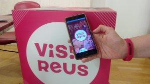 L'aplicació Visit Reus permet vincular-se amb la polsera turística