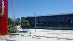 L'edifici del Tecnoparc de Reus