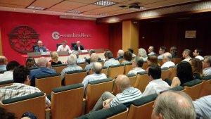 Una xerrada de Marc Arza ha inaugurat el cicle de conferències sobre Foment Industrial