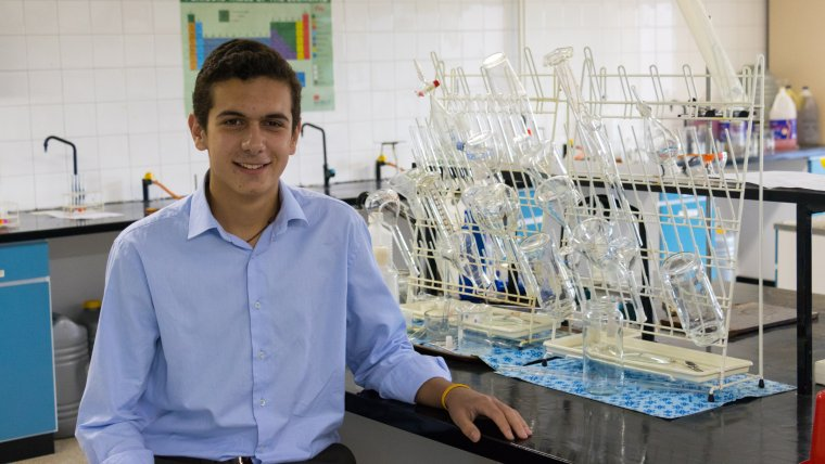 L'Anton Marquès estudiarà Enginyeria Química a l'IQS.