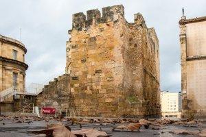 Torre del Pretori des de la plaça del Rei