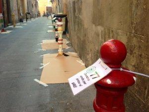 Imatge de la Pilon Parade organitzada pels veïns del carrer Comte