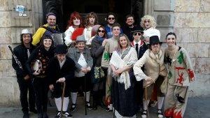 Dames i Vells a Vilanova amb alguns il·lustres