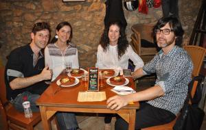 La quarta edició de la ruta gastronòmica començava amb la celebració, en paral·lel, de la Festa de la Batalla.