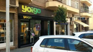 Imatge de la botiga de Yoigo a Torredembarra.