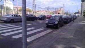 L'avinguda de Francesc Macià de Torredembarra, on s'han produït els fets.