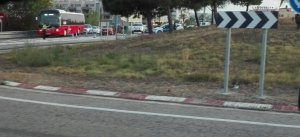 L'N-340 està tallada al seu pas per Torredembarra