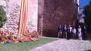 La Torre de la Vila de TRorredembarra ha acollit l'ofrena floral
