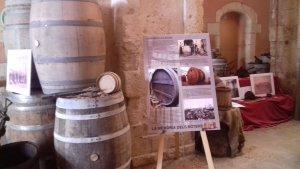L'exposició de boters al Pati del Castell ha acollit la presentació de la nova Fira d'Indians de Torredembarra
