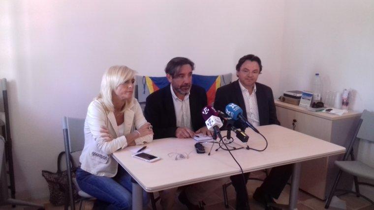 Magrinyà, Gomés i Rofas han comparegut al local del Vinyet aquest dilluns a la tarda