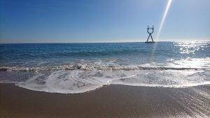 L'emissari evacua al mar de manera controlada les aigües de sanejament