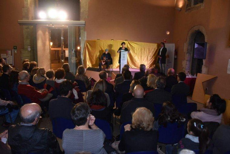 Imatge de l'entrega de Premis Cultura Vila de Torredembarra.