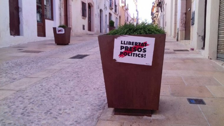 El carrer de Martí d'Ardenya d'Altafulla ja va registrar una empaperada setmanes enrere