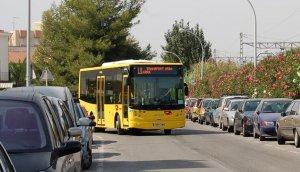 L'autobús urbà de Torredembarra, en un dels seus recorreguts.