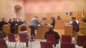El portaveu del CDR local ha demanat explicacions al final de la sessió